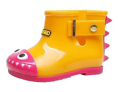 Stivali unisex bambino é bambina în gomma pioggia rain boots