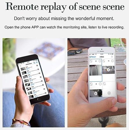 WiFi Hidden Camera Super Miniature Concealed Camera Mini spy Camera APP Remote Photography Video 1080P.