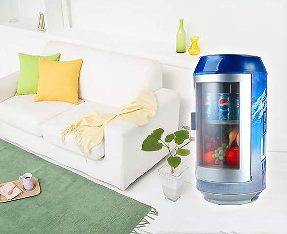 Amazon.es: Pequeño mini refrigerador bebida cerveza exhibición ...