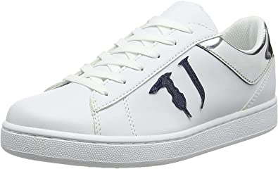 Trussardi Jeans Damen Sneakers Tj Logo Gymnastikschuhe