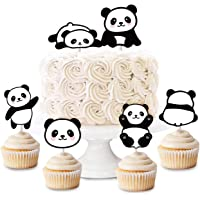 Panda Cupcake Toppers 24 Cupcake Picks for Panda Party Supplies