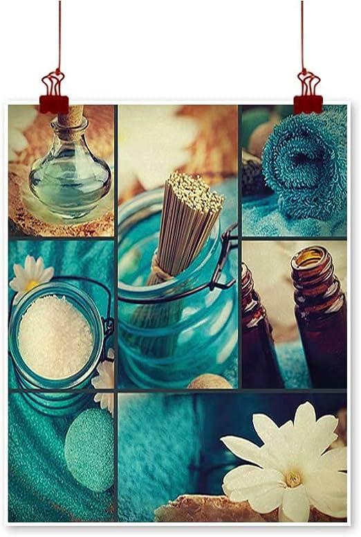 Jbgzzm Spa Salon Peinture Décor Fond Bambou avec Serviette ...