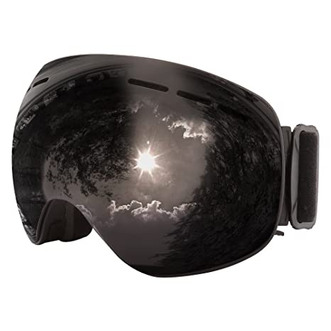 169ea37b10c Amazon.com   Jiepolly Ski Snowboard Snow Goggle Skiing Sunglasses ...