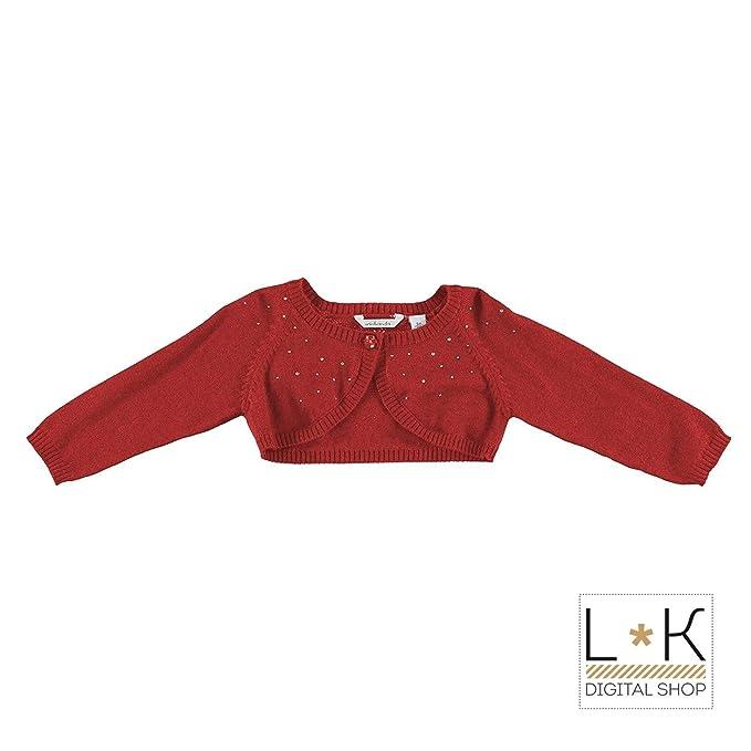 quality design 57394 255f5 minibanda Coprispalle in Misto Lana Rosso Neonata N782 ...