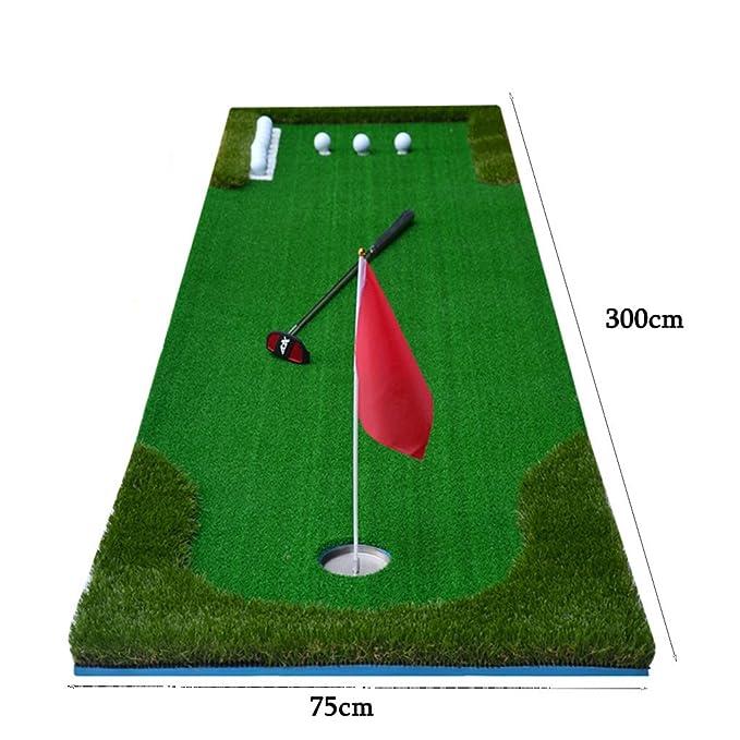 LEI ZE JUN UK- Golf Putting Mats Practice Greens Práctica de ...