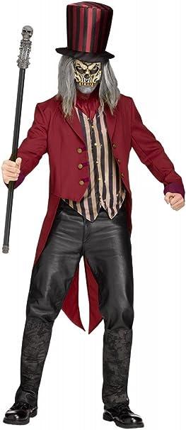 shoperama Freak Show Ring Master Hombre Disfraz de espantapájaros ...