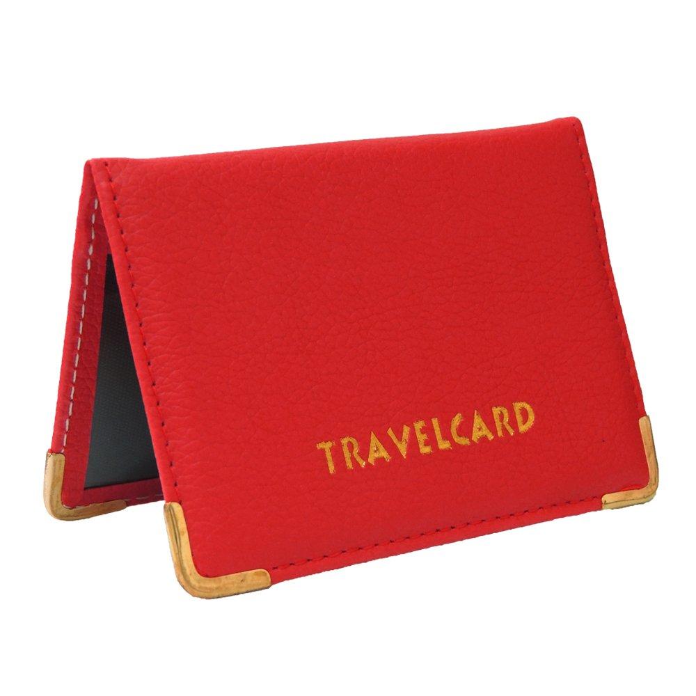 Voyage Pass Carte bus Oyster Portefeuille en cuir carte Rail pour étui FUSION (TM)