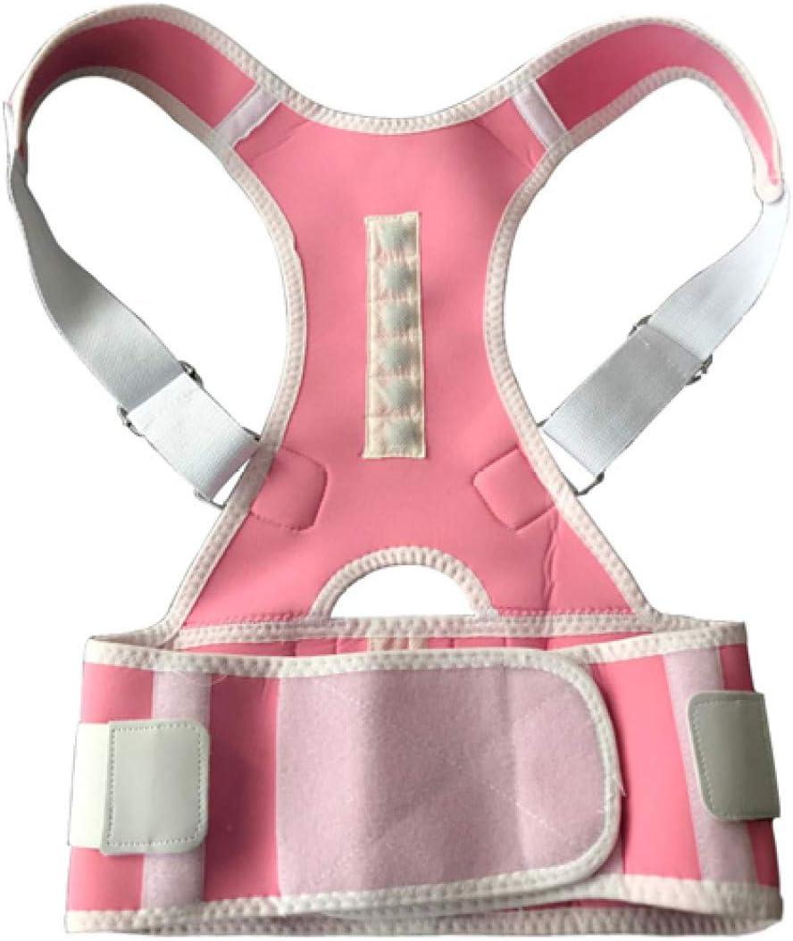 Cinturón médico magnético corrector de postura ajustable para niños adultos Cinturón de soporte para la espalda Ortopédico Soporte para la espalda