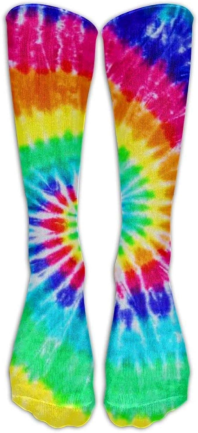 bbelieve Colorido Tie Dye Calcetines comprimidos de fútbol ...
