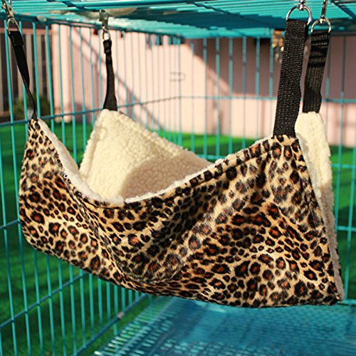 Hot 4 Patterns Cute Pet Polyester Rat Rabbit Chinchilla/Cat cage Hammock Small Dog Puppy Bed Cover from CXZ