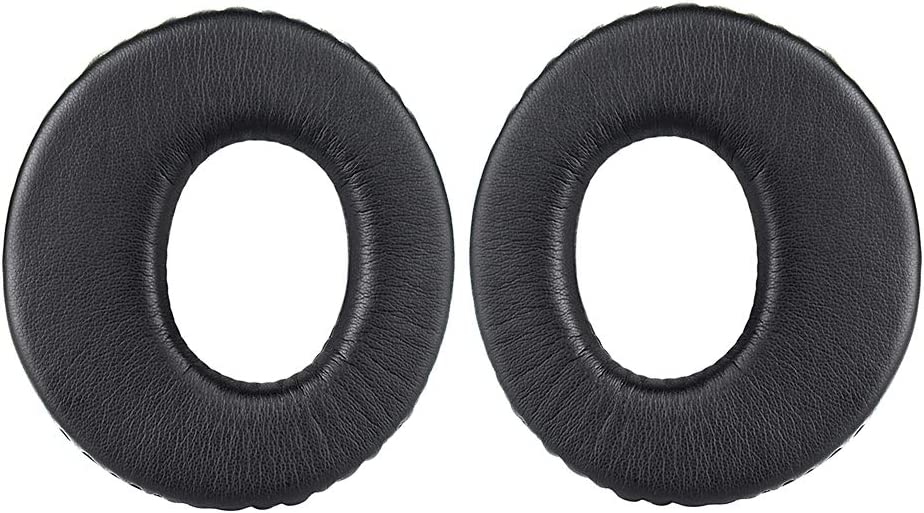 Black Upgraded MDR-RF985R Replacement Memory Foam Earpads,Compatible with MDR-RF985R RF970R 960R RF925R Headphones