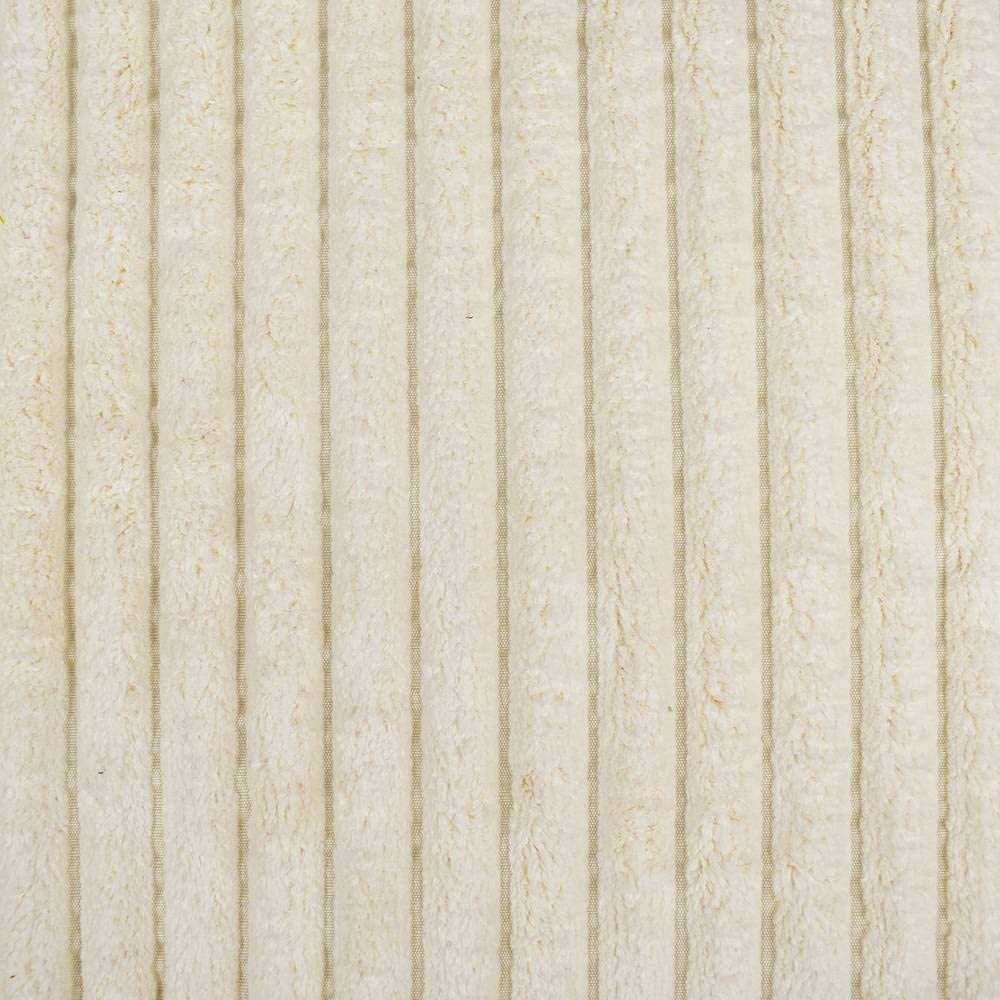 Eluxurysupply Fabric By The Yard 100 Polyester Upholstery Sewing Fabrics Billow Ivory Pattern