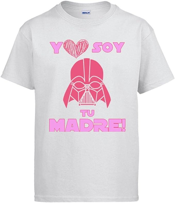 Diver Camisetas Camiseta yo Soy tu Madre Friki: Amazon.es: Ropa y accesorios