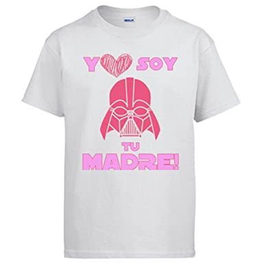 Camiseta Star Wars yo Soy tu Madre Friki  Amazon.es  Ropa y accesorios ea528ecf819ef