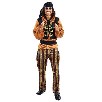 Fun Shack Marrón Estrella De Rock De Los 60 Disfraz para Hombres ...