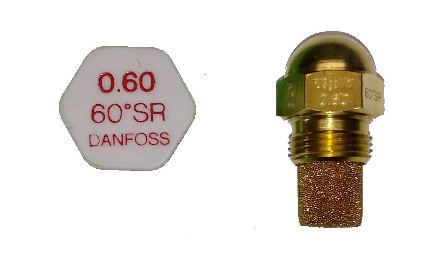 60 Grad SR Danfoss Rundkopf D/üse 0.60 gph