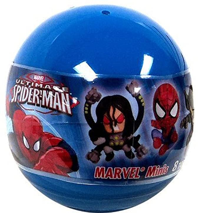 Marvel Ultimate Spider-Man Minis Mystery Pack Tomy Gatcha: Amazon ...
