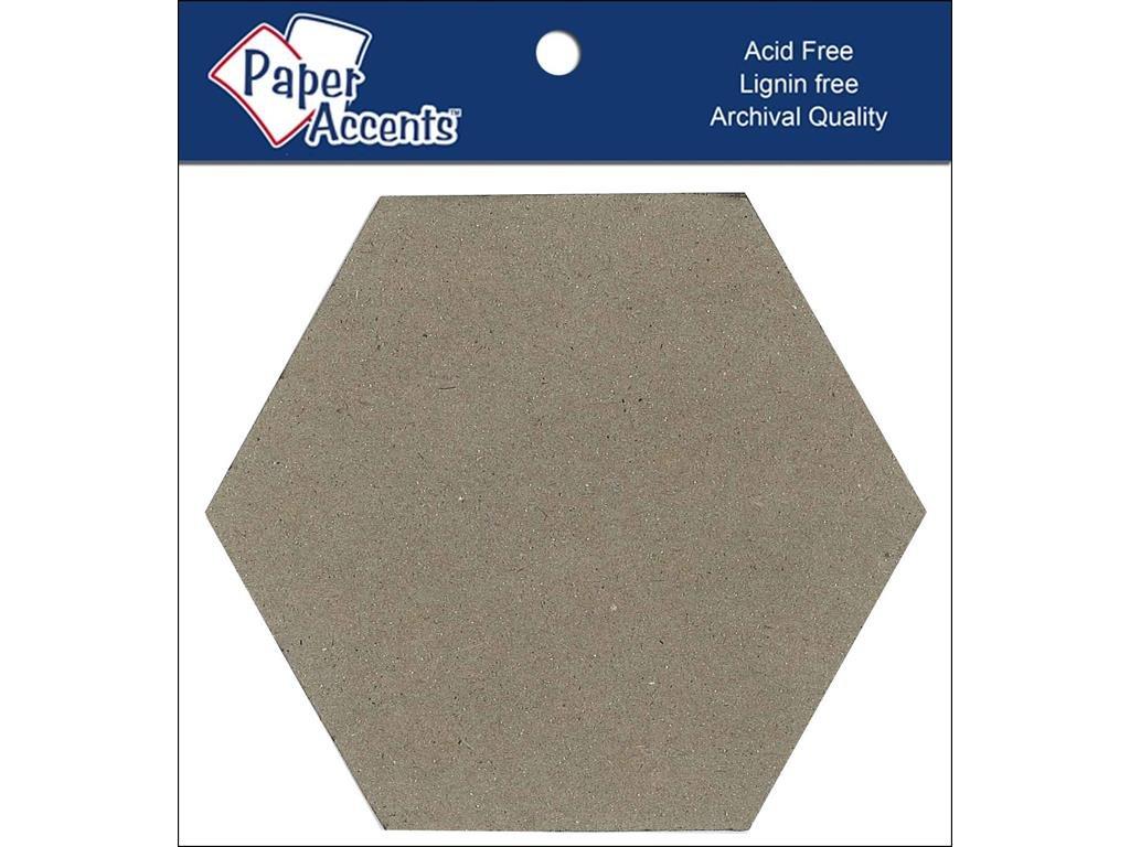 Accent Design Paper Accents Chip Shape 4 Hexagon ChipShapeHexagon