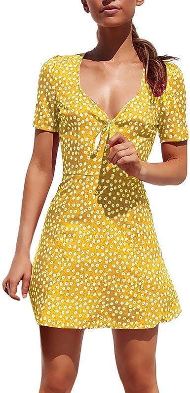Vestido Fiesta Mujer Corto Gasa POLP Verano Primavera Mini Faldas ...