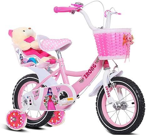 QARYYQ Bicicletas Infantiles Bicicletas para niñas de 6 a 9 ...