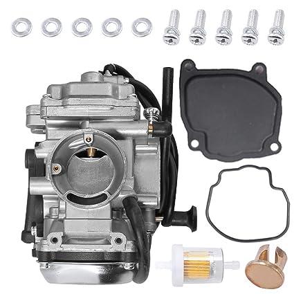 Amazon com: YFM250 Carburetor for Yamaha Bear Tracker 250