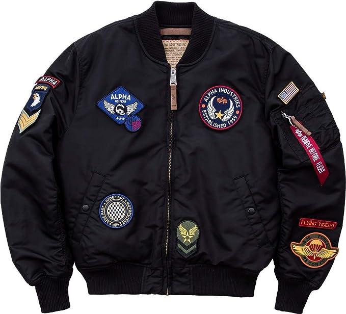 f82cc746661ea Alpha Industries Jacket MA-1 VF DIY  Amazon.co.uk  Clothing