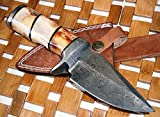 Handmade Hunting Knives Custom Handmade Damascus Steel knife (59-40) (Colors/Case may vary)