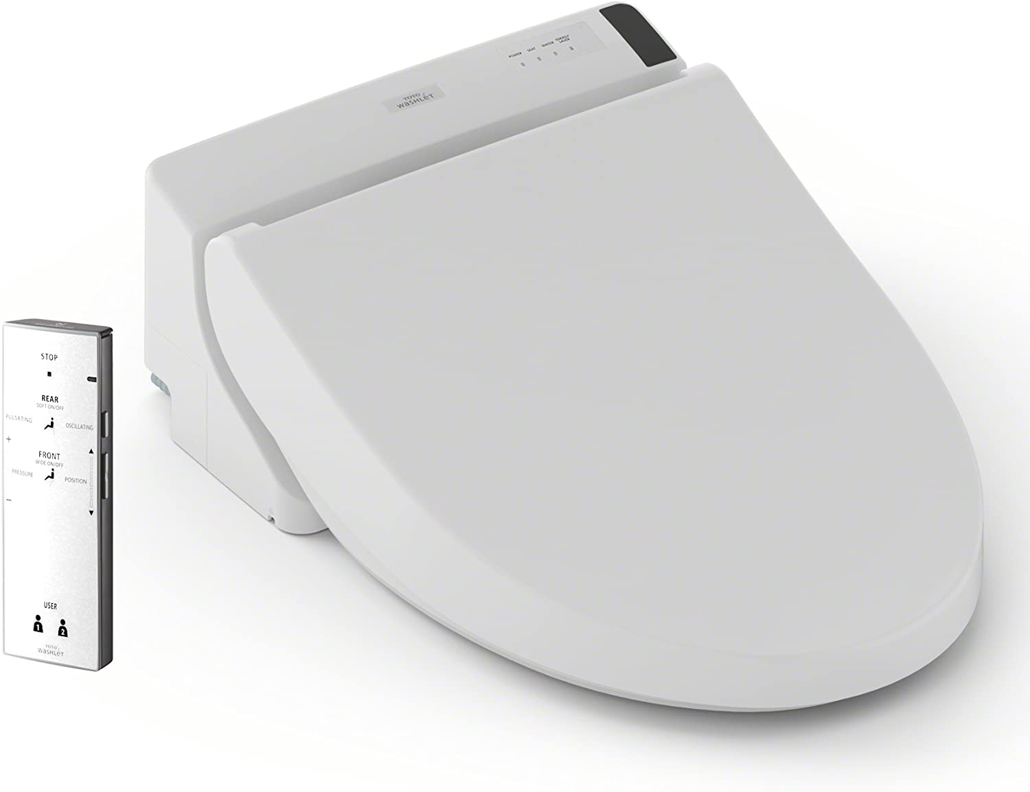Toto Sw2024 01 A200 Washlet Electronic Bidet Tolet Seat With Softclose Lid Elongated Cotton White Amazon Com