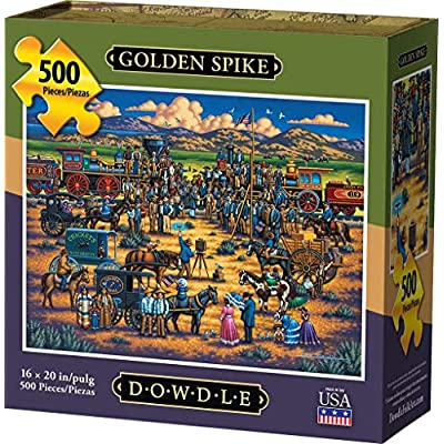 Dowdle Jigsaw Puzzle - Golden Spike - 500 Piece: Toys & Games