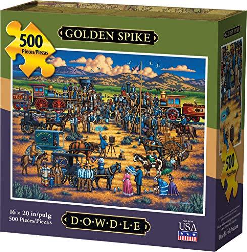 Dowdle Jigsaw Puzzle - Golden Spike - 500 Piece