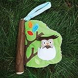 Skip Hop Baby Treetop Friends Soft Activity Book, Multi