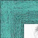 ArtToFrames 23x26 inch Aqua Rustic Barnwood Wood Picture Frame, 2WOM0066-83235-YAQU-23x26