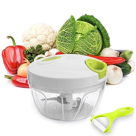 Uten Picadora Juego de molde afilar/trituración varios alimentos como de hierbas y verduras ajos