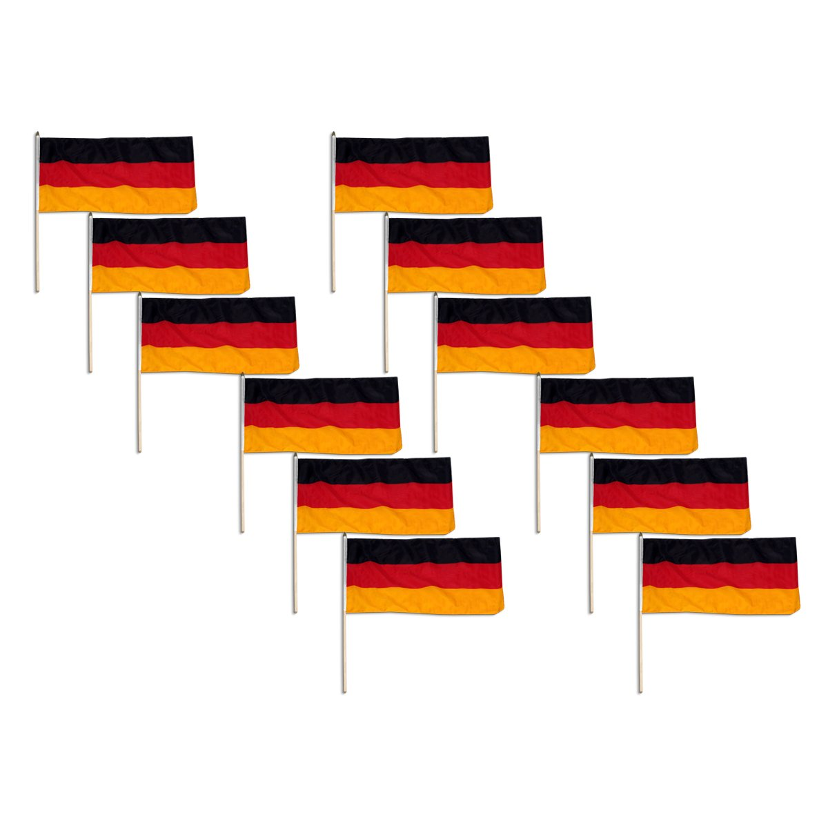 amazon com us flag store germany flag 12 by 18 inch outdoor