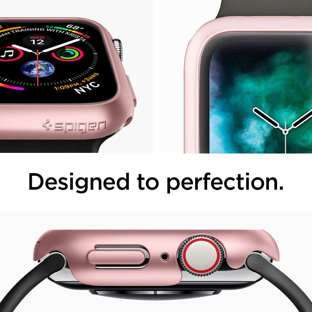 Spigen Thin Fit Designed for Apple Watch Case for 44mm Series 4 (2018) - Rose Gold by Spigen (Image #3)