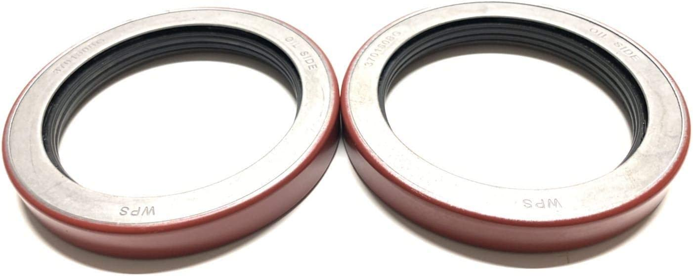 (Pack of 2) Trailer Hub Wheel Unitized Oil Seals WPS (TM) 10-51 (370150BGO) for 9K-10K GD Axles ID 2.875'' x OD 3.880''