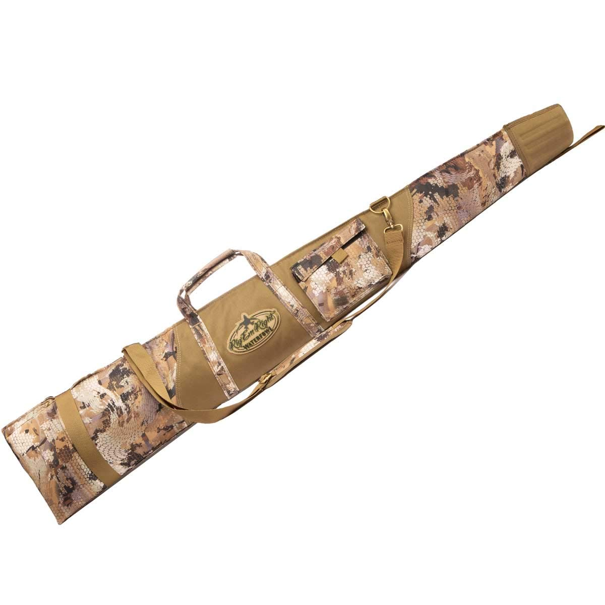 Rig'em Right Waterfowl Full Choke Floating Gun Case - Optifade Marsh Camo by Rig Em Right