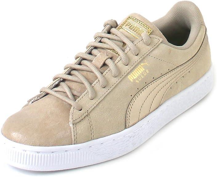 PUMA Suede Classic Damen Sneaker Graubraun