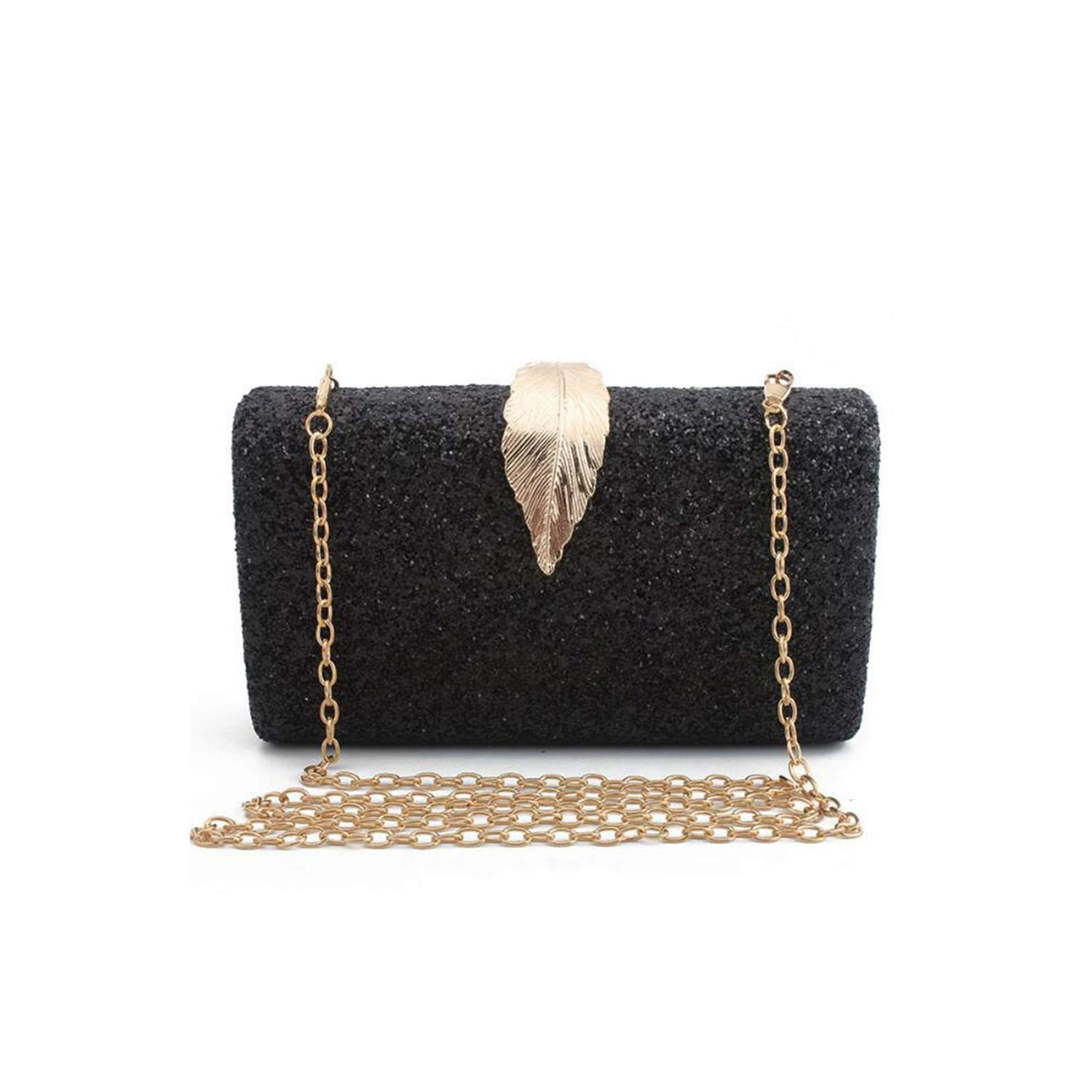 03afdc5cff39 Sequined Clutch Women's Evening Bags Day Clutches Gold Metal Leaf ...