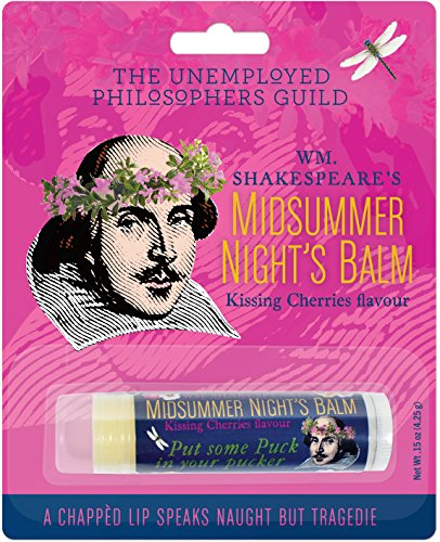 The Unemployed Philosophers Guild William Shakespeare's Midsummer Night's Lip Balm - Made in The USA