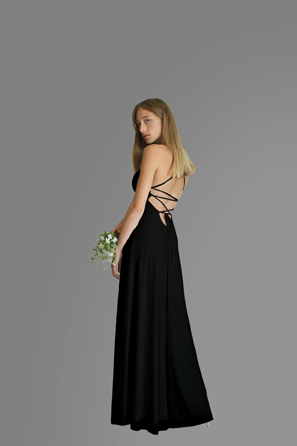 Amazon Black Evening Dress Maxi Long Dress For Wedding Or