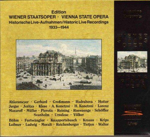 Historic Live Recordings 1933-1944 by Koch Schwann (Germ.)