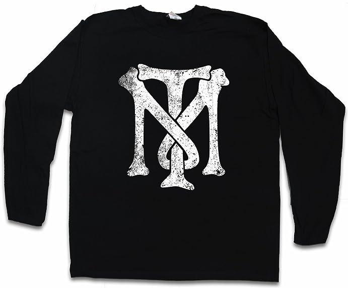 Urban Backwoods Tony Montana Tm Logo Long Sleeve T Shirt Tm Blow