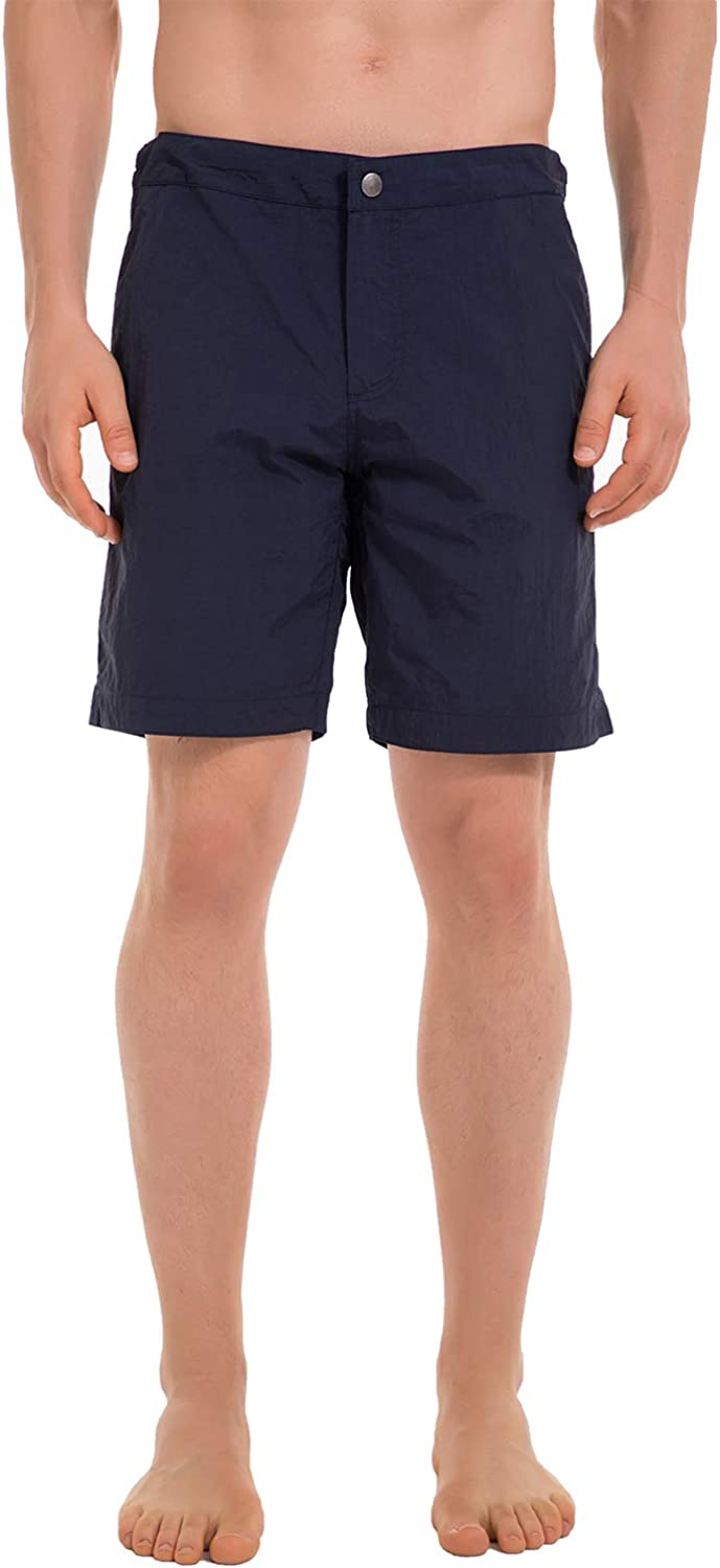 Bird Song Mens Quick Dry Swim Trunks Swimming Shorts with Mesh Liner