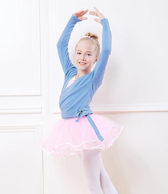 Pinkdaa Para Niña Vestido Danza Con Leotardo Maillot Ballet De OqwSFZOa