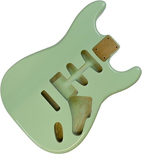 Surf Green HSS Stratocaster - Cuerpo de guitarra eléctrica (2 ...