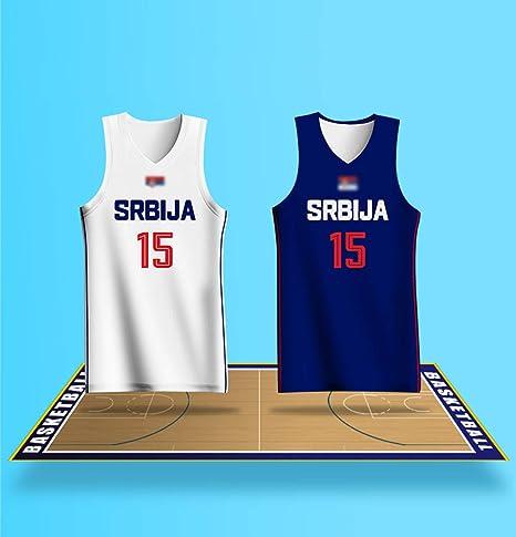 para Hombre de la Copa Mundial de Serbia Jersey Partido Nº 15 ...