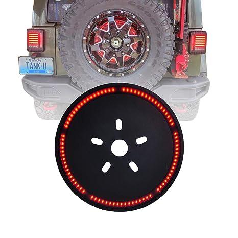 Pleasant Amazon Com Omotor Tire Brake Light 3Rd Third For 2007 2018 Jeep Wiring Digital Resources Nekoutcompassionincorg