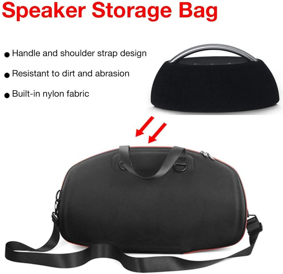 Black Travel Carry Case Portable Storage Bag for Harman Kardon GO and PLAY Bluetooth Speaker