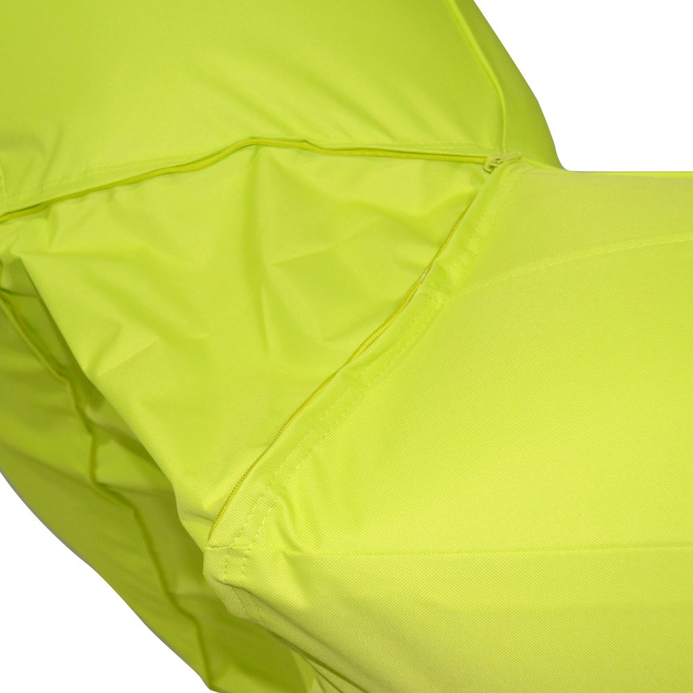 Ove Decors Aqual Aqua Lime Inflatable Pool Float Lounger by Ove Decors